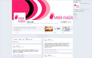 Facebook Fan Page de todo-nails