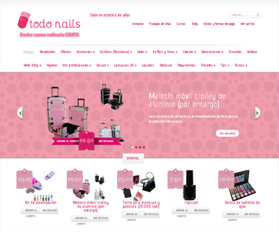 Web de todo-nails
