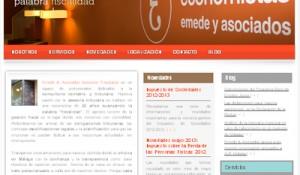 Web de Emede & Asociados Asesores Tributarios